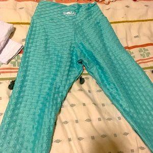Chrome bbb leggings seafoam